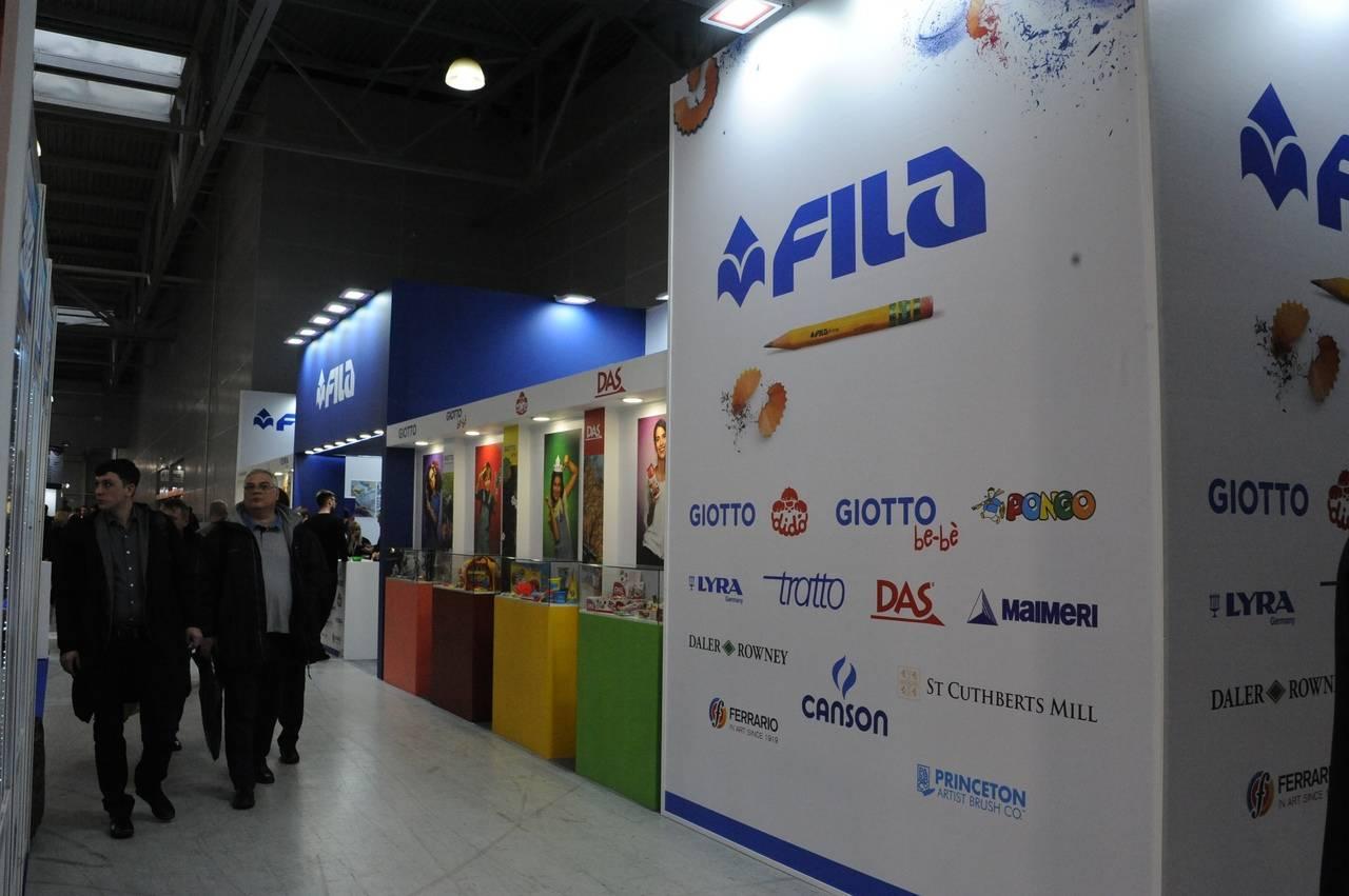 F.I.L.A. Russia привезла новинки на выставку «Скрепка Экспо»