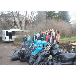 Команда «Воронежского пивзавода» поддержала акцию по раздельному сбору мусора