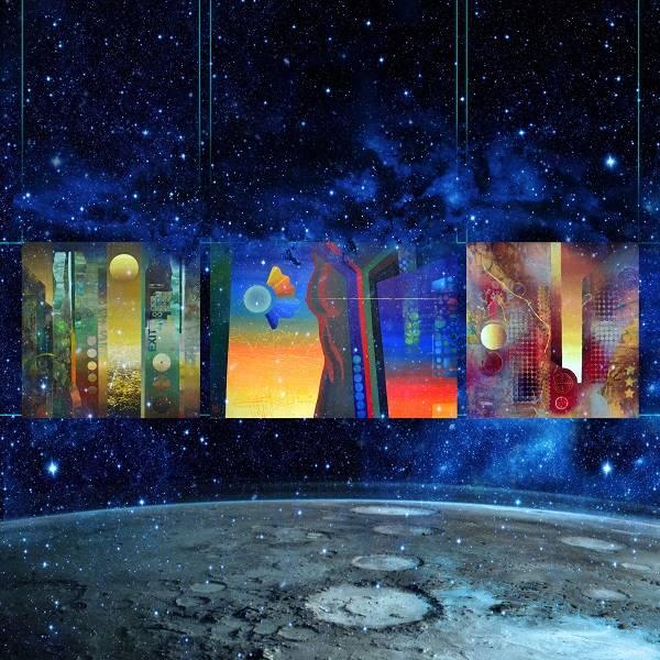 Первая выставка на Луне