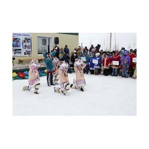Работники «Аганнефтегазгеологии» встретили весну на празднике коренных народов Севера