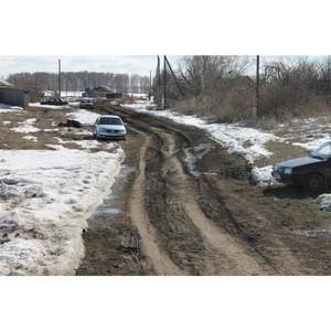 Активисты ОНФ в Мордовии просят власти отремонтировать дорогу в селе Старая Теризморга