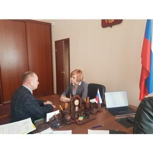Виктория Бессонова встретилась с Главным федеральным инспектором Забайкалья Игорем Цветковым