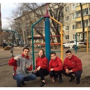 Участники амурской команды «Молодёжка ОНФ» провели акцию