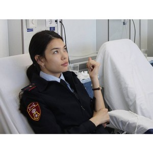 Росгвардейцы Тувы пополнили банк запаса крови Станции переливания крови