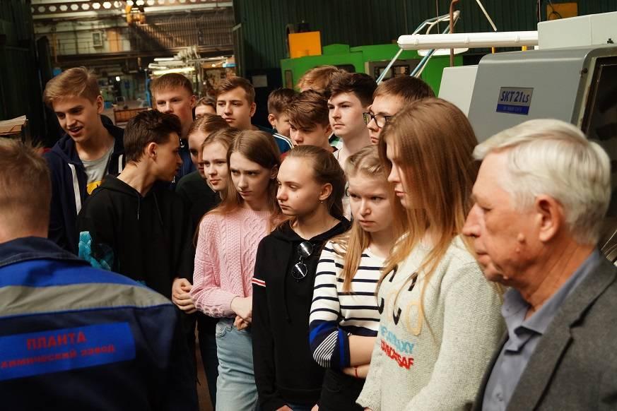 Уральские школьники узнали о работе одного из ведущих промышленных предприятий в регионе