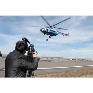 Журналисты ГТРК «Тыва» стали гостями на тренировках ОМОН по десантированию