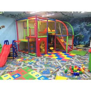 В посёлке Целина появилась первая игровая с двухъярусным лабиринтом