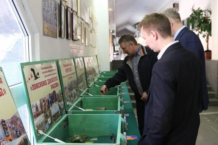 В ЦТУ открылась экспозиция «Дорогами Памяти»