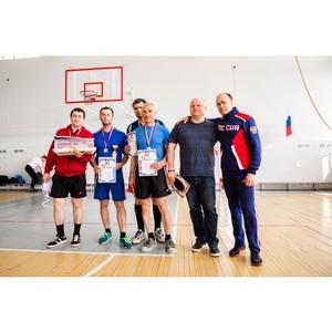 Сотрудники Тамбовэнерго заняли призовое место в теннисном турнире