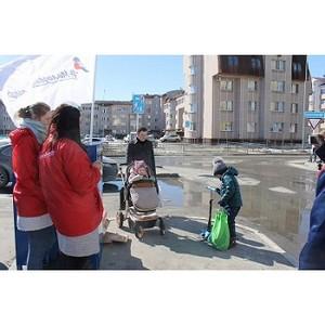 Ханты-Мансийцы собирали макулатуры в рамках акции «Молодежки ОНФ» #Сохраним Лес