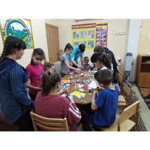 «Молодежка ОНФ» в Мордовии провела для детей из социального приюта творческое занятие