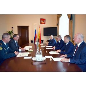 Начальник Центрального таможенного управления с рабочим визитом посетил Воронеж