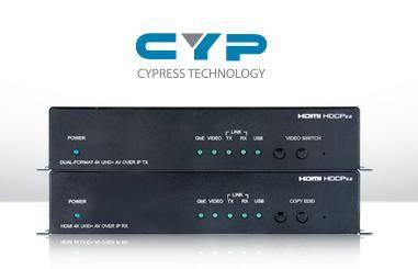 В Инсотел новинки Cypress: 4k A/V удлинители COH-TX5 / COH-RX5 по оптоволокну до 30 км