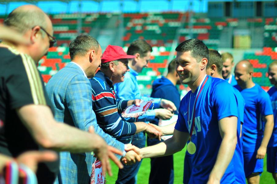Футболисты ЦТУ выиграли у ФК «Локомотив»