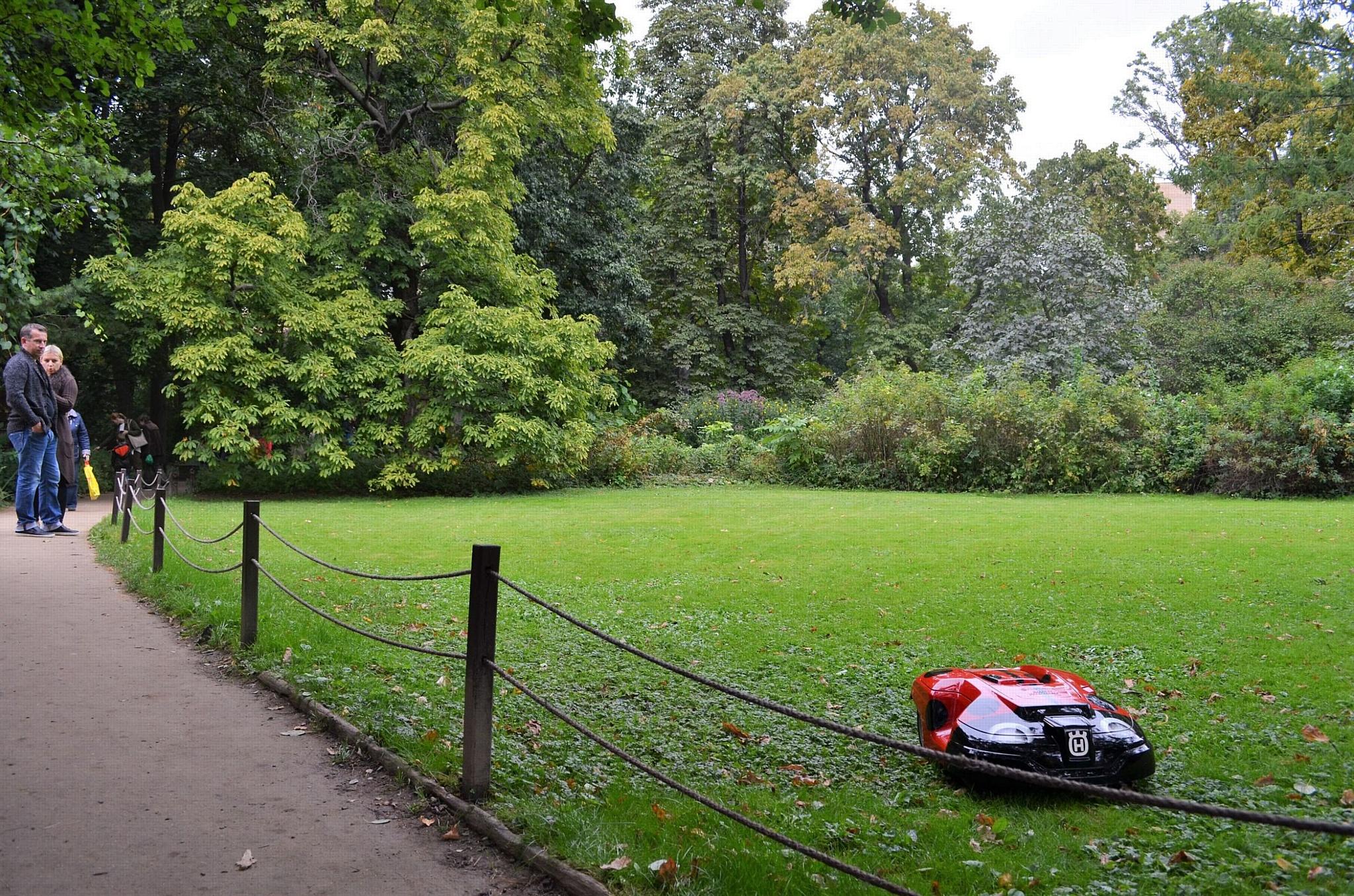 Главный Ботанический сад страны придерживается трендов садовой техники