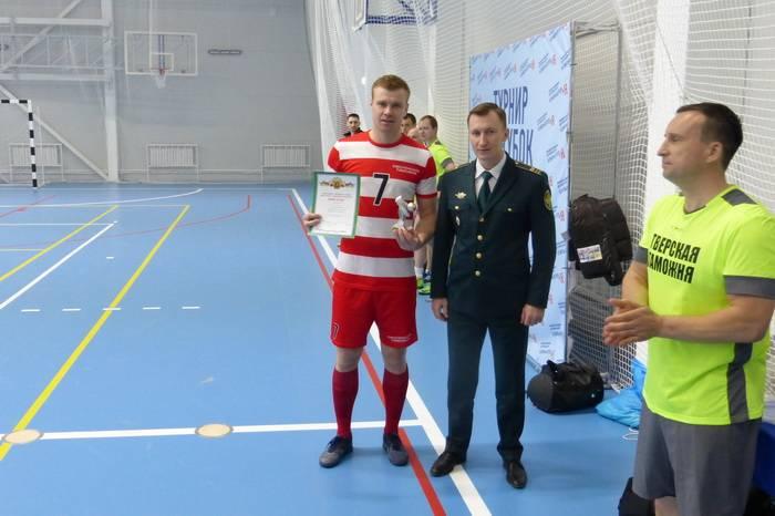 Смоленские таможенники – чемпионы Центрального таможенного управления по мини-футболу