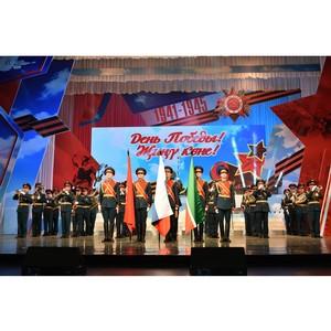 Дмитрий Таюрский принял участие в мероприятии, посвященном 74 годовщине победы