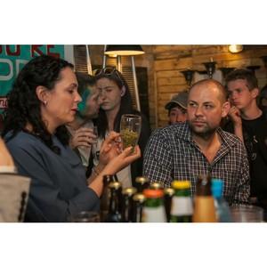 В День города Ярославля мастер-классы «Пивного сомелье» познакомили ярославцев с пивоварением