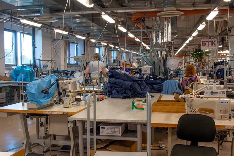 Освещение производственного комплекса «Балтийской Текстильной Компании», г. Санкт-Петербург