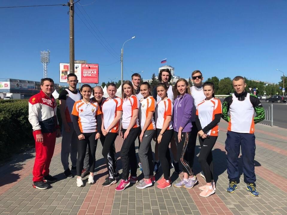 Команда Дзержинского филиала РАНХиГС стала серебряным призером городского эстафетного пробега