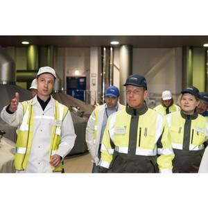 Первым визитом нового президента «Балтики» Ларса Леманна стало знакомство с заводом Новосибирска