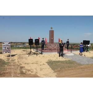 По инициативе волгоградских активистов ОНФ реконструирован памятник военнопленным в Новом Рогачике