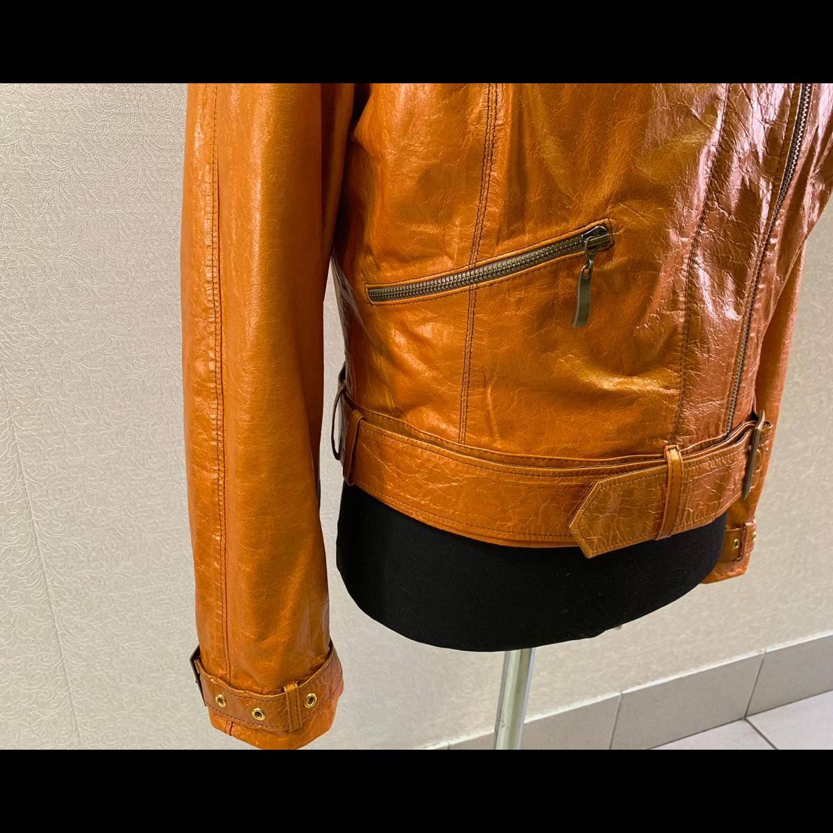Перешив старой кожаной куртки в модную косуху