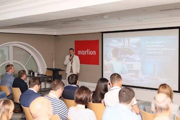 Merlion провел конференцию для партнеров в Нормандии