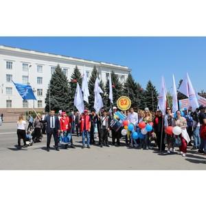Представители ОНФ в Кабардино-Балкарии приняли участие в первомайской демонстрации