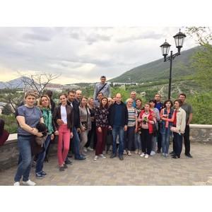 Сотрудники Тамбовэнерго побывали с экскурсией на Северном Кавказе