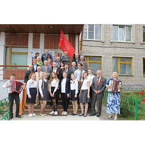 В филиале «Калугаэнерго» чествовали ветеранов