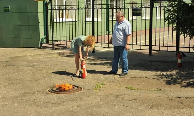 В Смоленской таможне «тушили» пожар