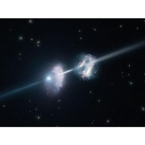 Обнаружен «радиомост», соединяющий скопления галактик