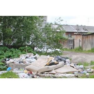 ОНФ призвал власти Сыктывкара оборудовать контейнерную площадку в переулке Зои Космодемьянской