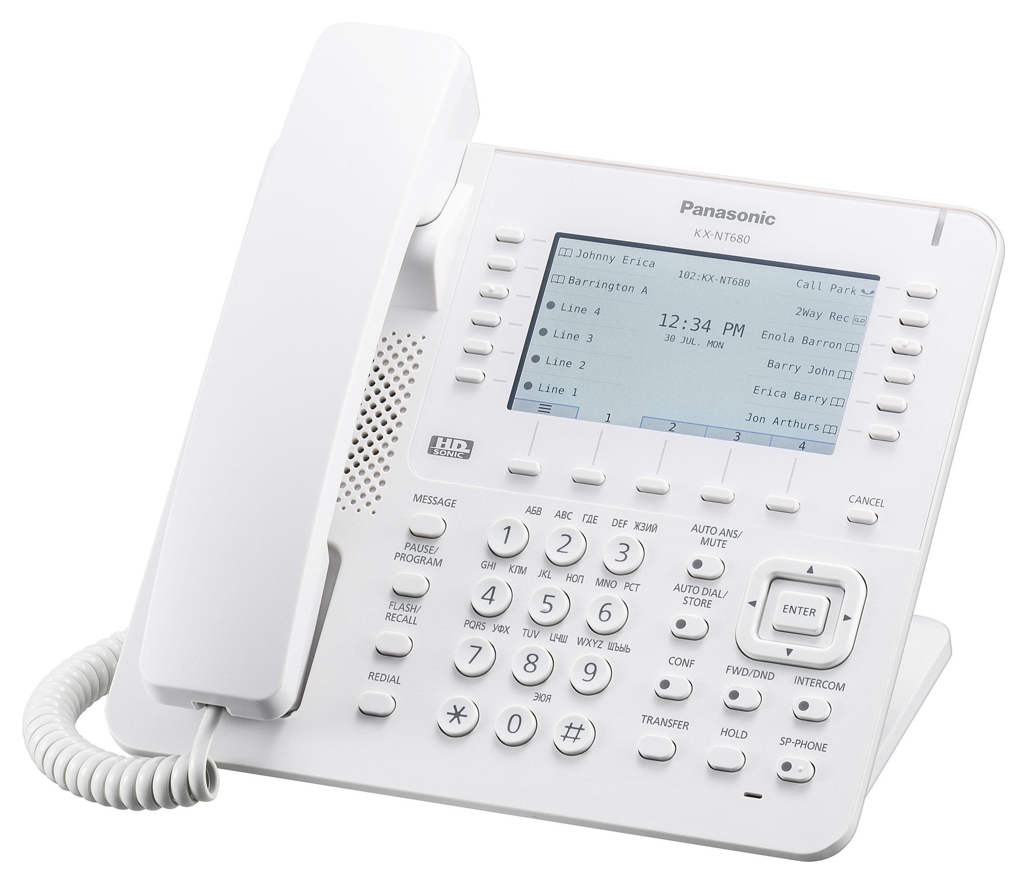 Новая серия IP-телефонов Panasonic