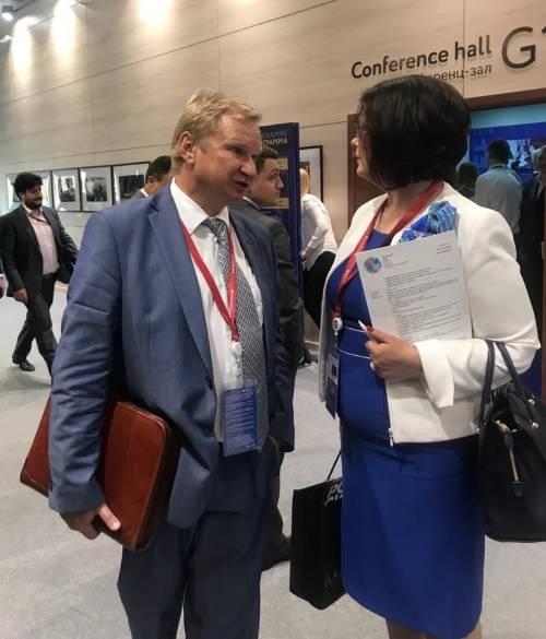 """Делегация МОО """"МАП"""" приняла участие в работе ПМЭФ 2019"""