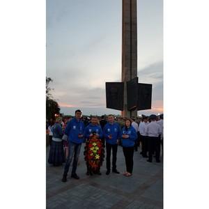 Сотрудники Тверьэнерго приняли участие в акции «Свеча памяти»