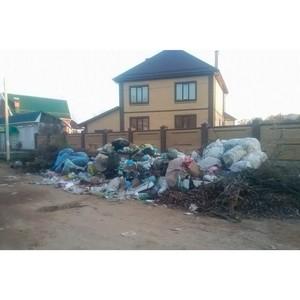 Эксперты ОНФ обсудят на круглом столе тарифы и порядок вывоза мусора для жителей сел и дачных товариществ