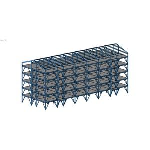 Здания малой и средней этажности на стальном каркасе как часть комфортной городской среды