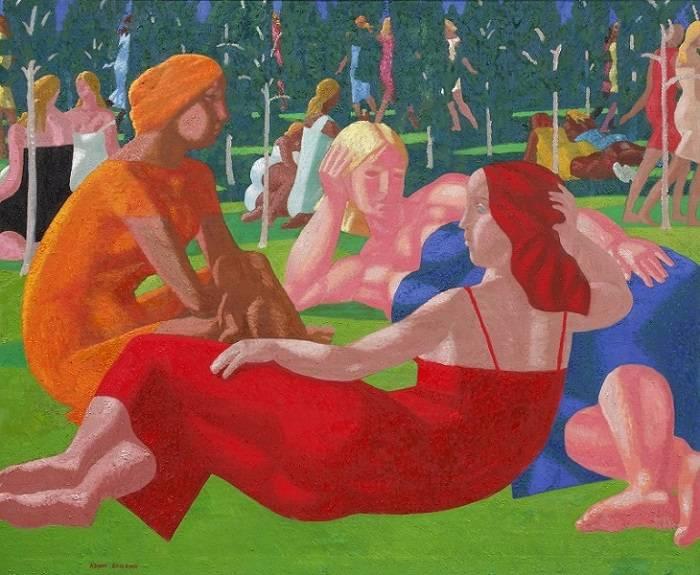 Выставка Азама Атаханова «Поэма о смыслах» пройдет в галерее ArtStory