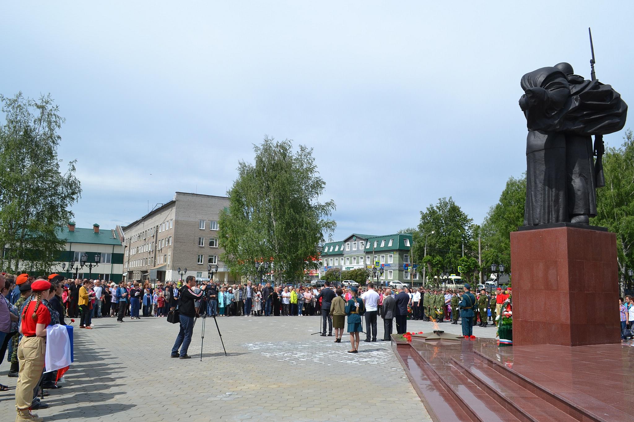 22 июня 2019 г. в г. Серове состоялся митинг, посвященный Дню памяти и скорби