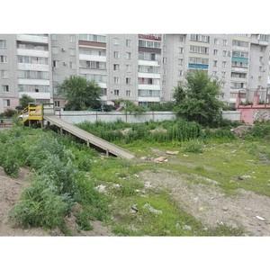 «Молодежка ОНФ» обратила внимание на проблему заброшенных котлованов