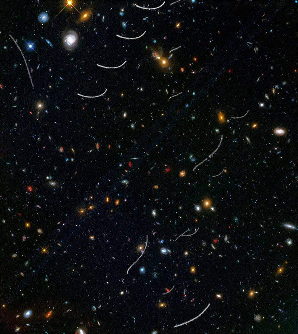 Добровольцы помогут найти астероиды на снимках «Хаббла»