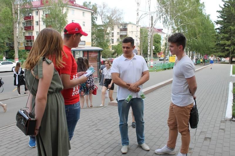 «Молодёжка ОНФ» провела в Саранске акцию «Меняем сигареты на конфеты»