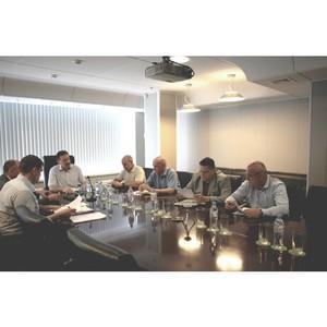 В ПАО «ТНС энерго Кубань» состоялась рабочая встреча с главой Тихорецкого района