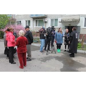 ОНФ в Приамурье настоял на исправлении недочетов благоустройства дворов в п.Аэропорт
