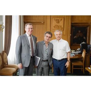 Развитие белгородских предприятий «Евроцемент груп» обсудили на встрече с губернатором