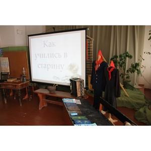 Активисты ОНФ в Республике Коми провели акцию «Идем в музей» в селе Выльгорт