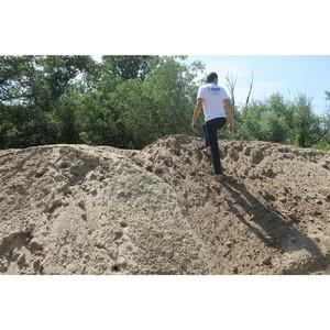 Начата проверка по несанкционированному сбросу грязненного грунта