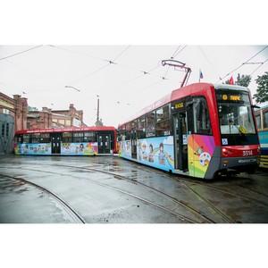 Развитие инфраструктуры общественного транспорта в Невском районе Санкт-Петербурга
